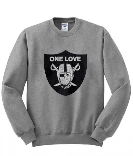 Oakland Raiders One Love Sweatshirt