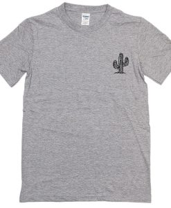 Green Cactus Pocket Style T-Shirt