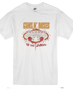 Guns N' Roses t shirt (white)