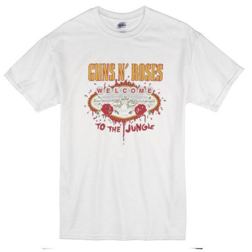Guns N' Roses t shirt (white)