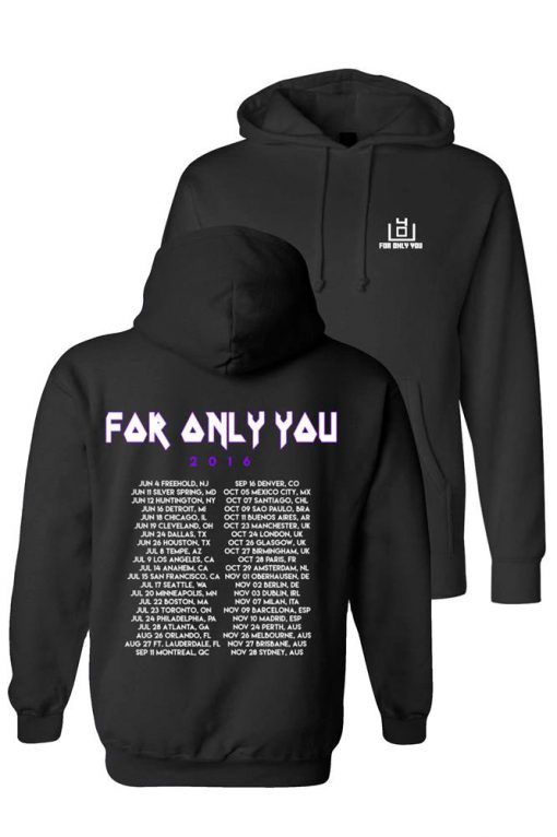 4OU World Tour 2016 Black Sweatshirt