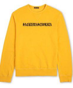 Ariana Grand Yellow Sweatshirt