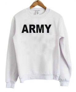 Army sweatshirt