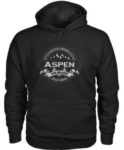 Aspen colorado est 1881 Hoodie