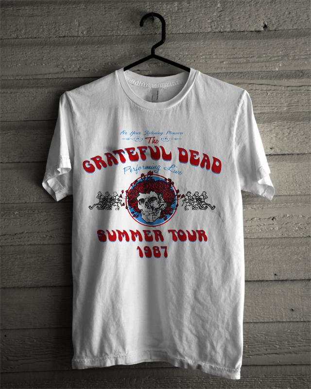 037c85c11044 Grateful dead summer tour 1987 T-shirt