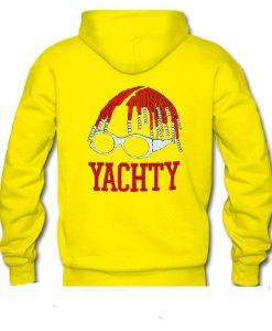 Yachty back yellow hoodie