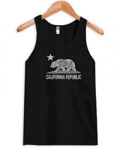 california republic beer Tanktop