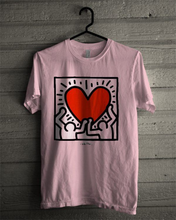 love keith haring t shirt. Black Bedroom Furniture Sets. Home Design Ideas