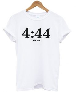 4 44 jayz time T-shirt