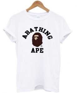 A bathing ape White T-shirt
