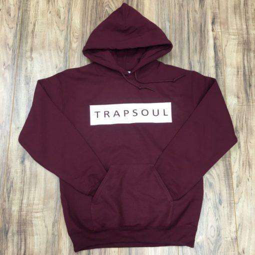 Trapsoul maroon hoodie
