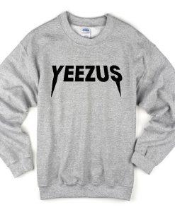 Yeezus grey sweatshirt