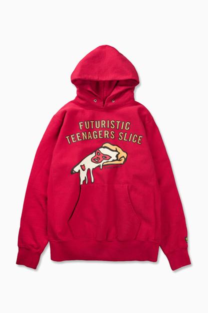 futuristic teenager slice hoodie