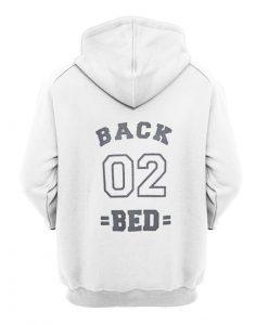 Back 02 Bed back Hoodie