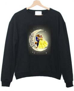 Beauty and beast Sweatshirt