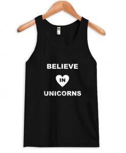 Believe in unicorn Tanktop