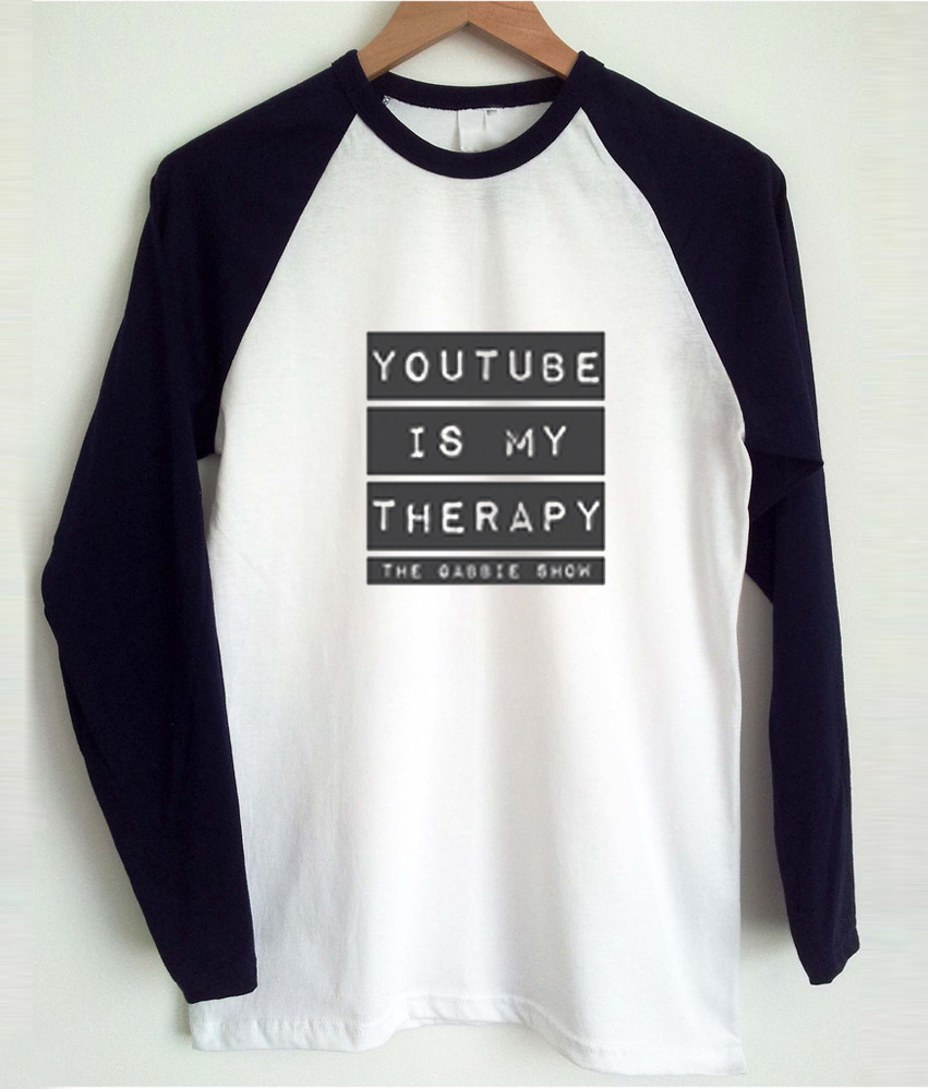 youtube t shirt black