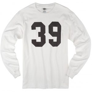 39 number loong sleeve T-shirt