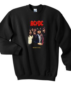 ACDC High To hell Sweatshirt