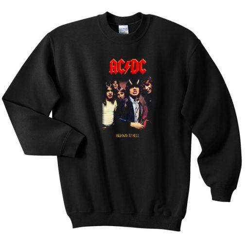 ACDC High To hell Sweatshirt