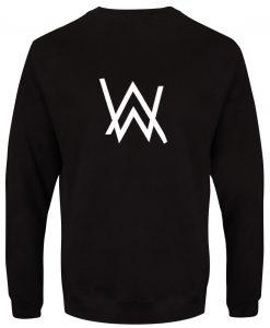 Alan walker logo back Sweatshirt