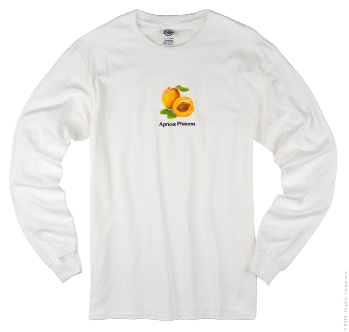 Apricot Princess Long Sleeve White T-shirt