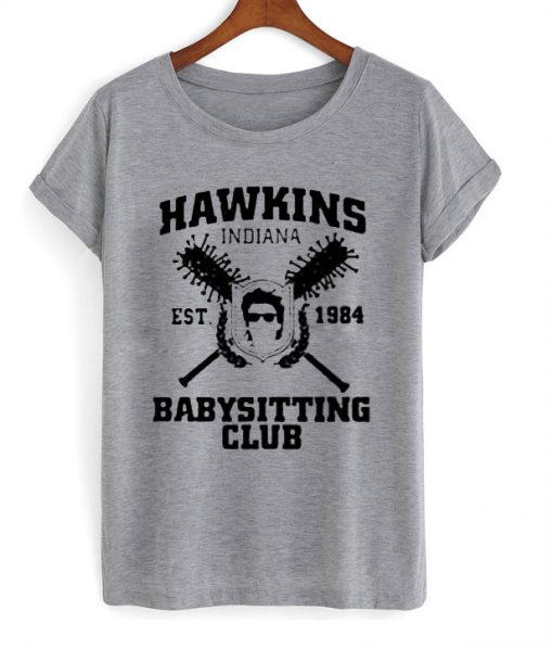Hawkins indiana babysitting club T-shirt