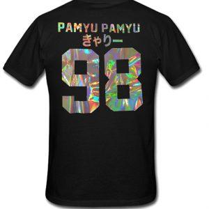 Pamyu pamyu 98 Back T-shirt