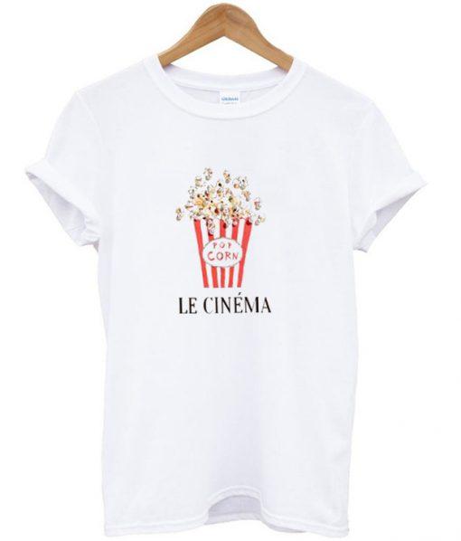 Pop Corn Le Cinema T-Shirt