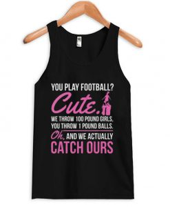 You paly football Tank top