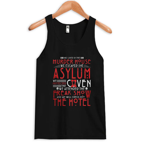 american horror story Tank top