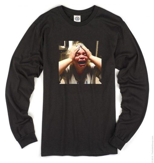 Trisha Paytas Crying Long Sleeve T-Shirt