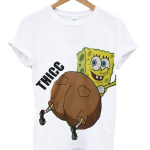 Thicc Spongebob T-shirt