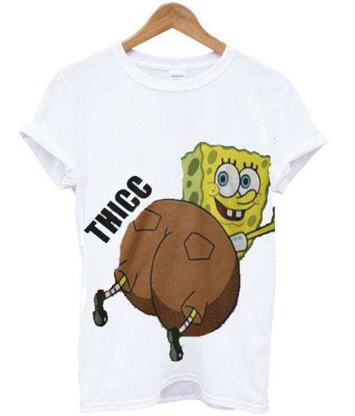 Thicc Spongebob T-shirt