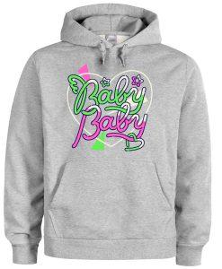 Baby Baby Listen Flavour Grey Hoodie