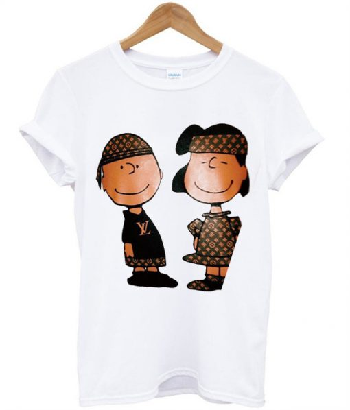 Charlie Brown And Lucy Louis Vuitton T-Shirt
