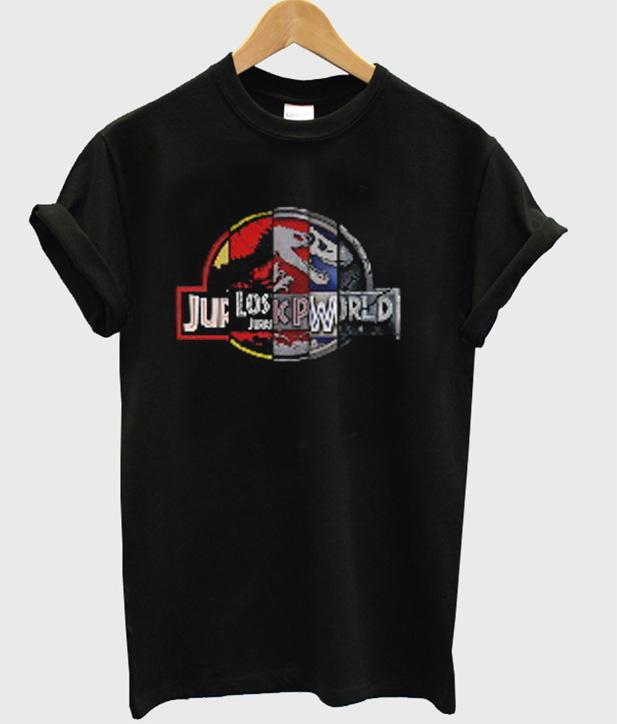 a9eed94c5 Jurassic Park Lost Jurassic World T-Shirt