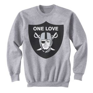 One Love Oakland Raiders Sweatshirt