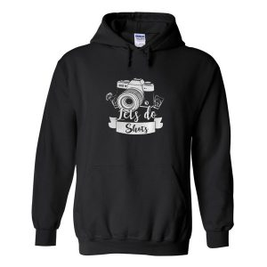 Photographer Let's Do Shots Coffee Hoodie