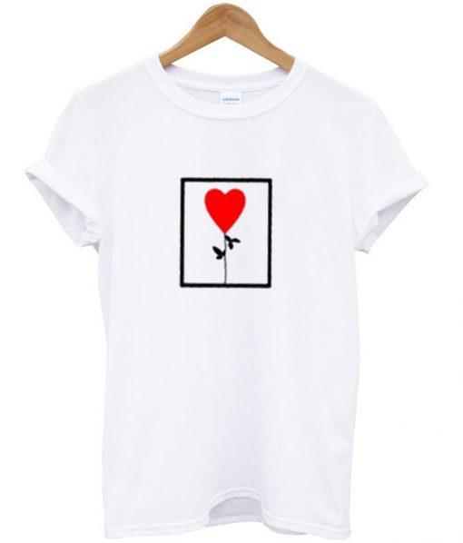 Rose Flower Rachel Green T-Shirt