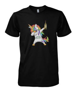 Unicorn Dabbing Jameson Irish Whiskey T-Shirt
