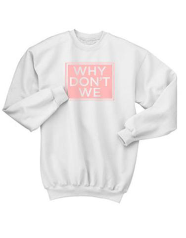 a91f6588d Why Dont We Sweatshirt