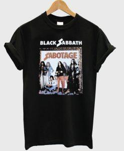 Black Sabbath Sabotage T-Shirt