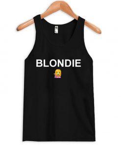 Blondie Emoji Tank top