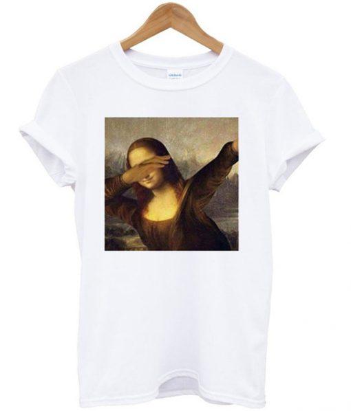 Mona Lisa Dabbing T-Shirt