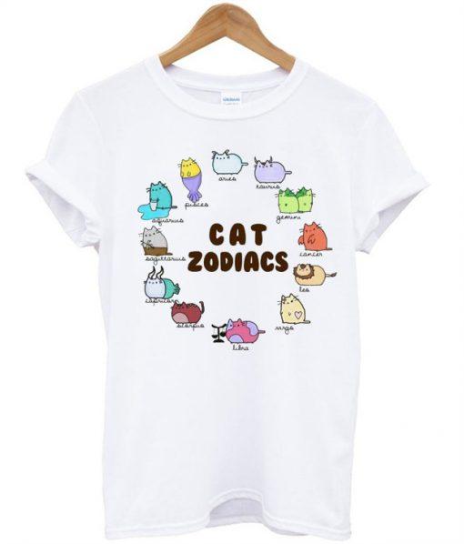 Cat Zodiacs T-Shirt