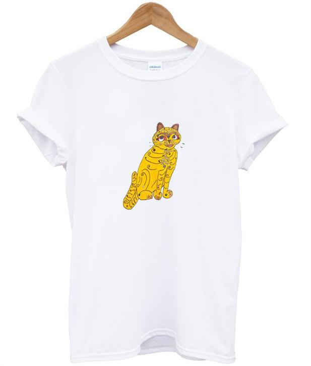 Abba Yellow Cat T-Shirt