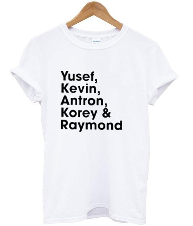 Exonerated 5 T-Shirt
