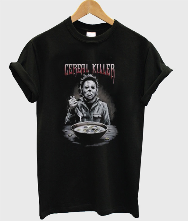 Michael Myers Halloween Cereal Killer T-Shirt
