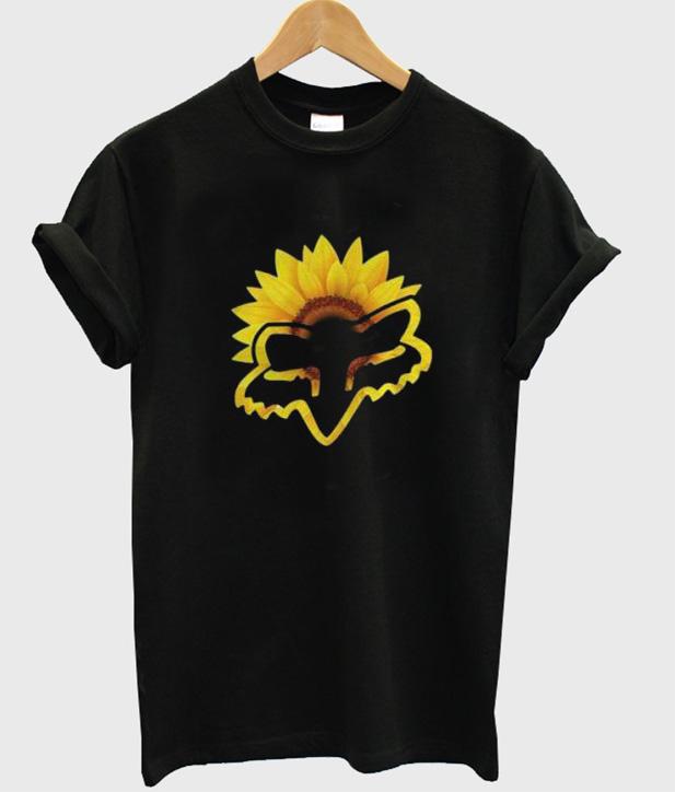 Fox Racing sunflower T-Shirt